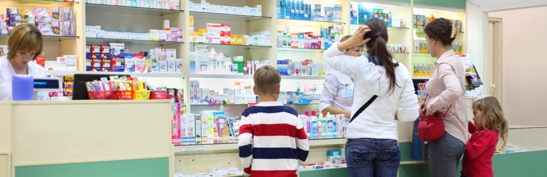 clients buying medicines