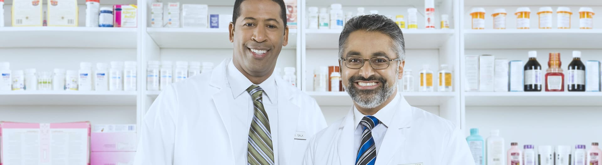 two male pharmacists