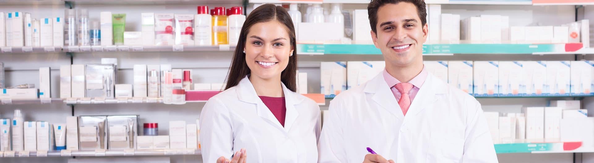 smiling pharmacists